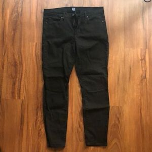 "GAP Black Denim Jeans in ""Everblack"""